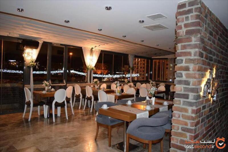 رستوران هتل تکسیم لاین