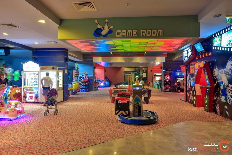 اتاق بازی هتل لانگ بیچ آلانیا