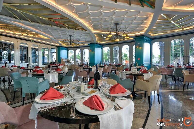 رستوران ایتالیایی هتل لانگ بیچ ریزوت آلانیا