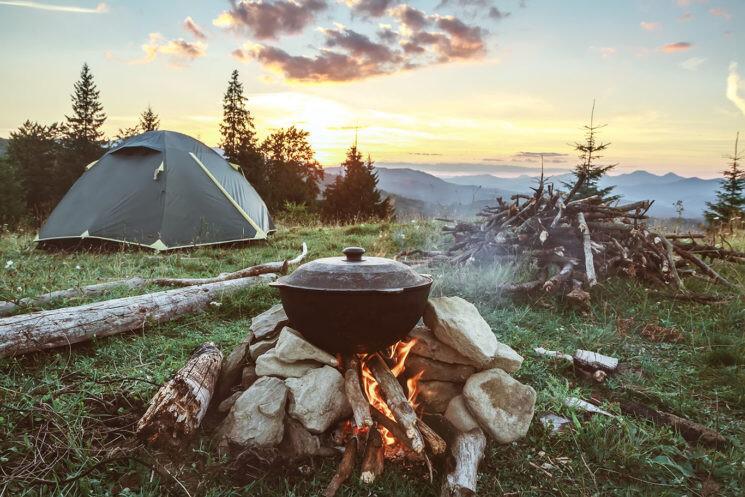 چند غذای ساده و مناسب طبخ در جنگل یا کمپ