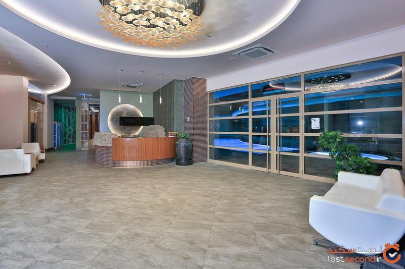 سالن اسپا هتل لانگ بیچ