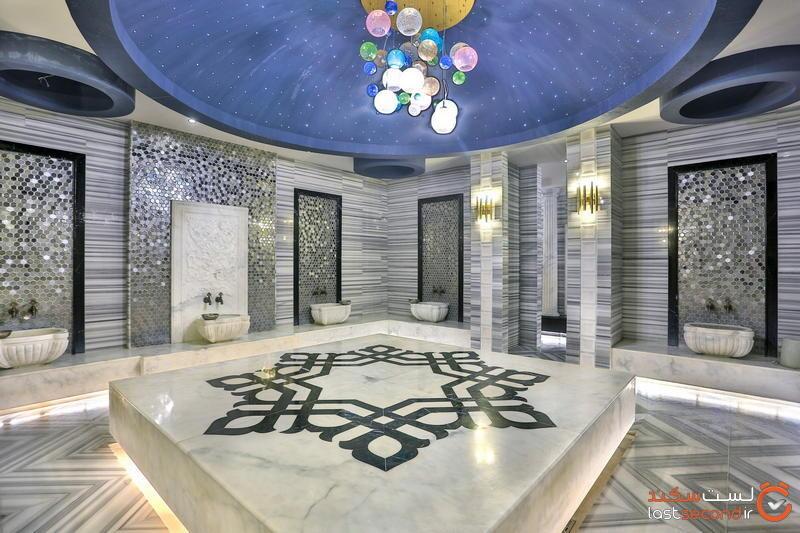 حمام ترکی هتل لانگ بیچ آلانیا