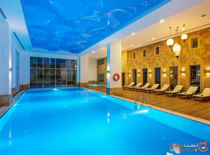استخر هتل های آلانیا