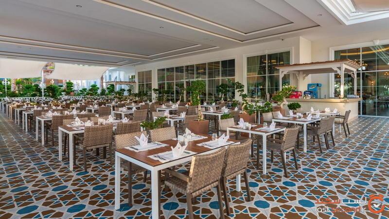 رستوران هتل های آلانیا