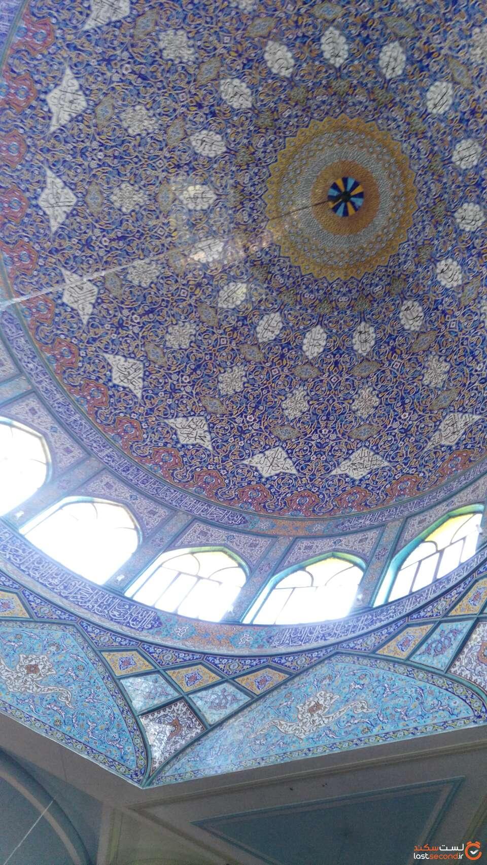گنبد زیبا مسجد جامع اهواز