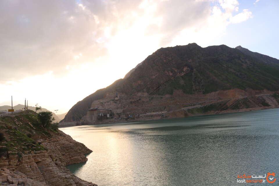 دریاچه سد کارون چهار