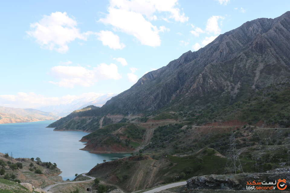 دریاچه سد کارون سه