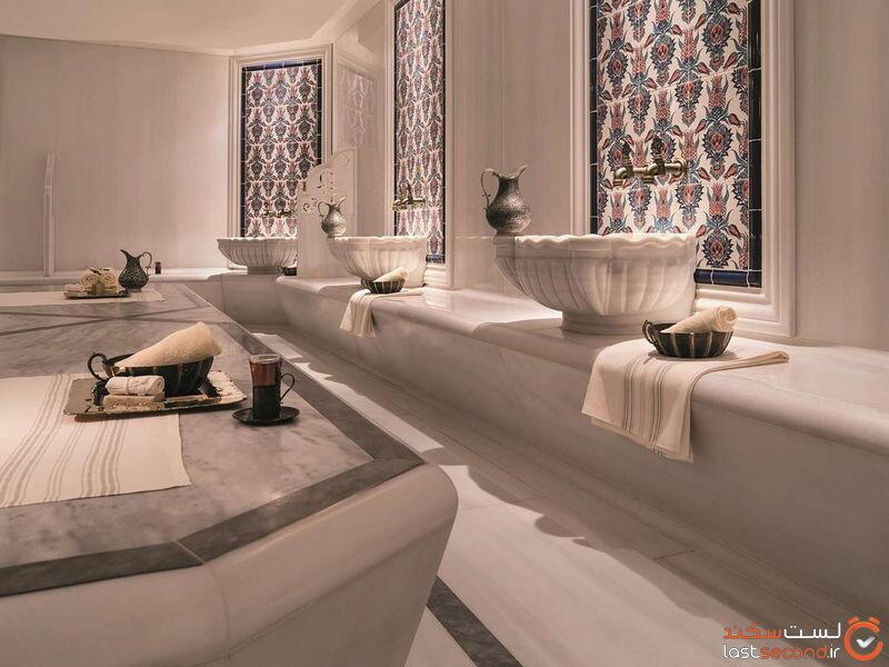 حمام ترکی هتل شانگری استانبول