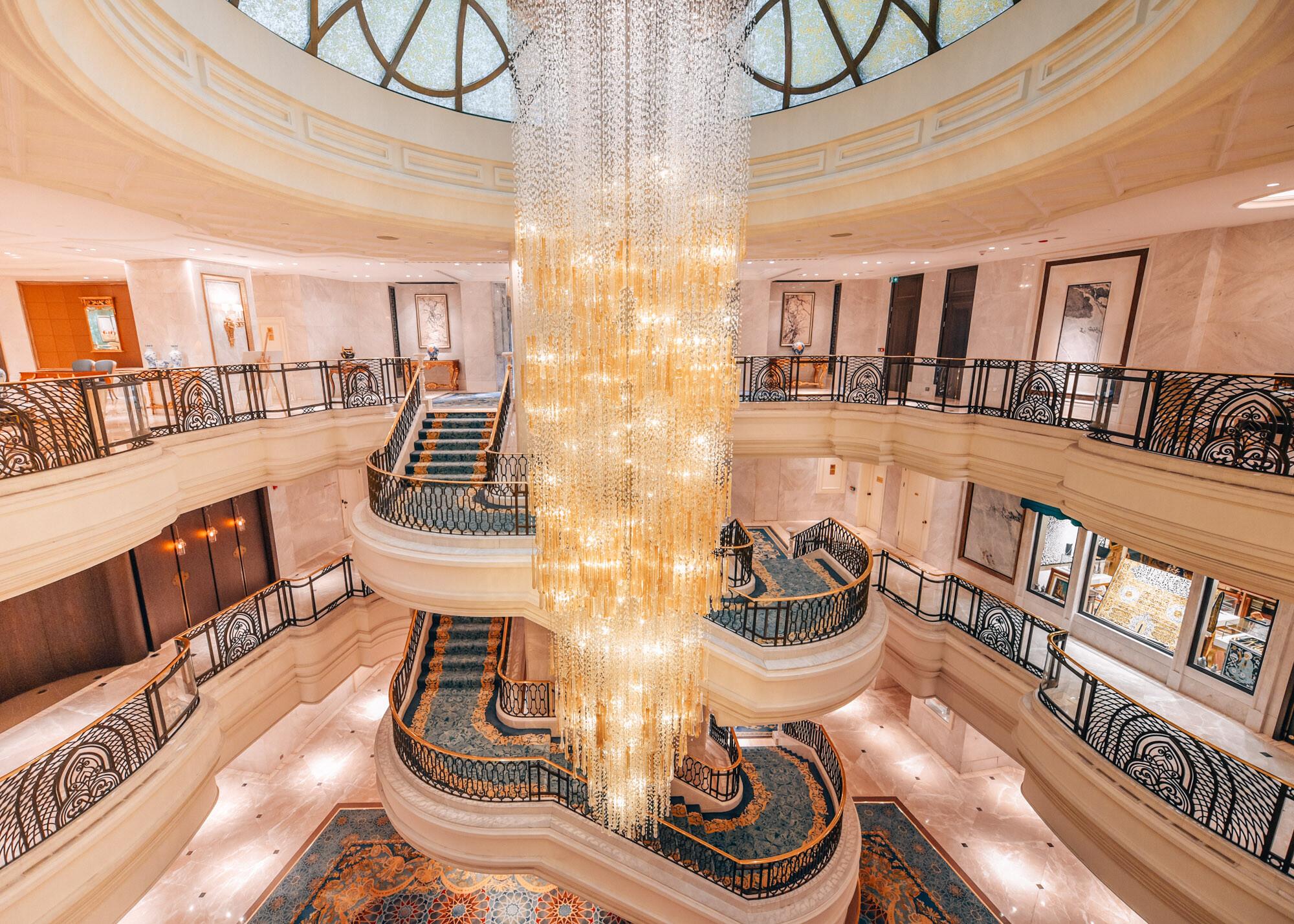 هتل شانگری لا بسفروس، استانبول (Shangri La Bosphorus Hotel)