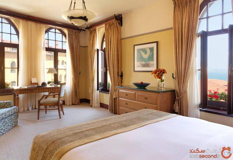 اتاقهای هتل فور سیزن سلطان احمد