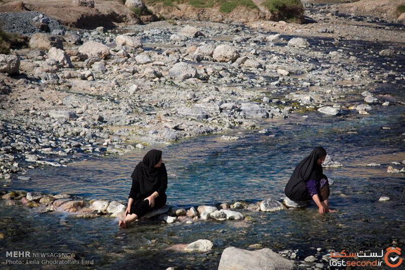 چشمه آبگرم دهلران