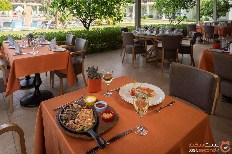 رستوران هتل باروت لارا