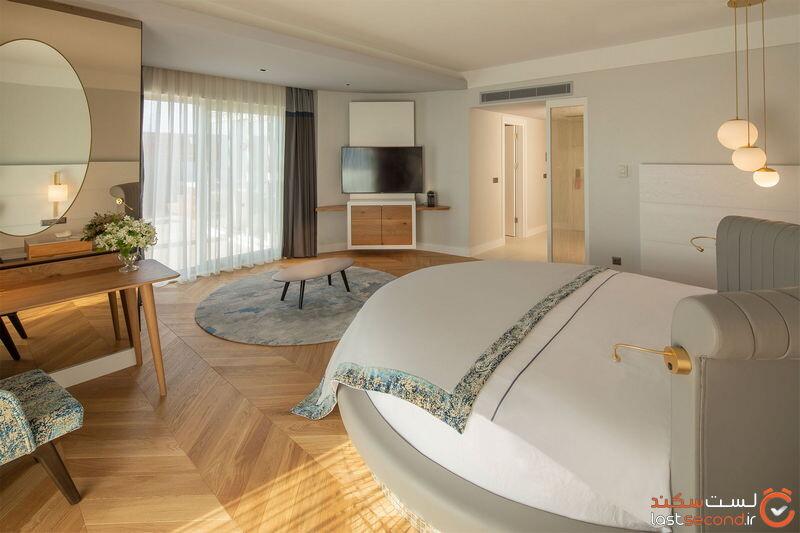 اتاق های هتل باروت لارا کالکشن آنتالیا