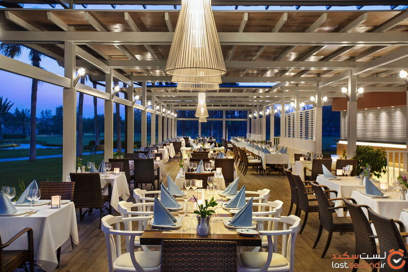 رستوران sandal رستوران هتل باروت لارا