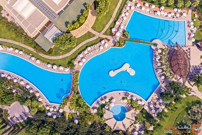امکانات تفریحی هتل باروت لارا کالکشن