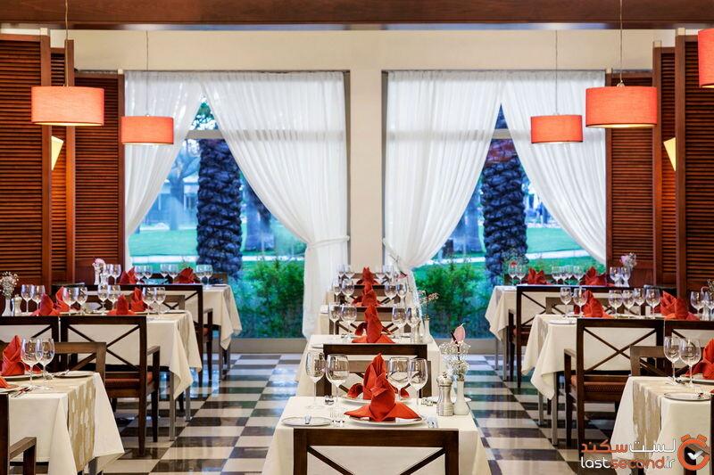 رستوران بین المللی هتل باروت لارا