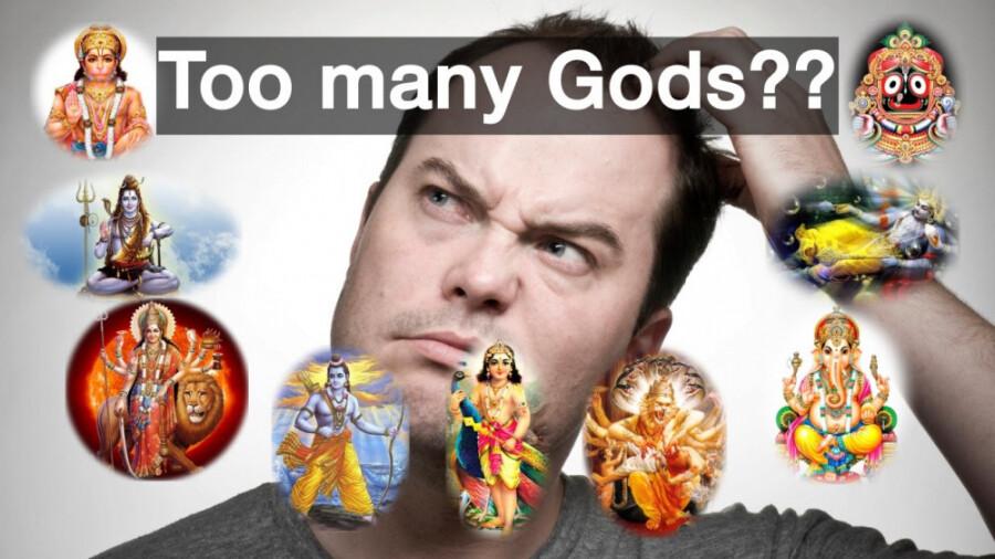 داستان میلیون ها خدای هندو ها چیست!