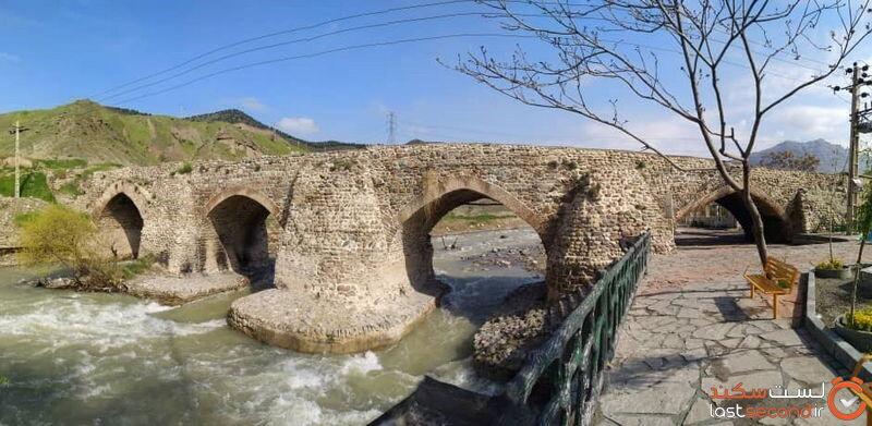 پل تاریخی شاه عباس