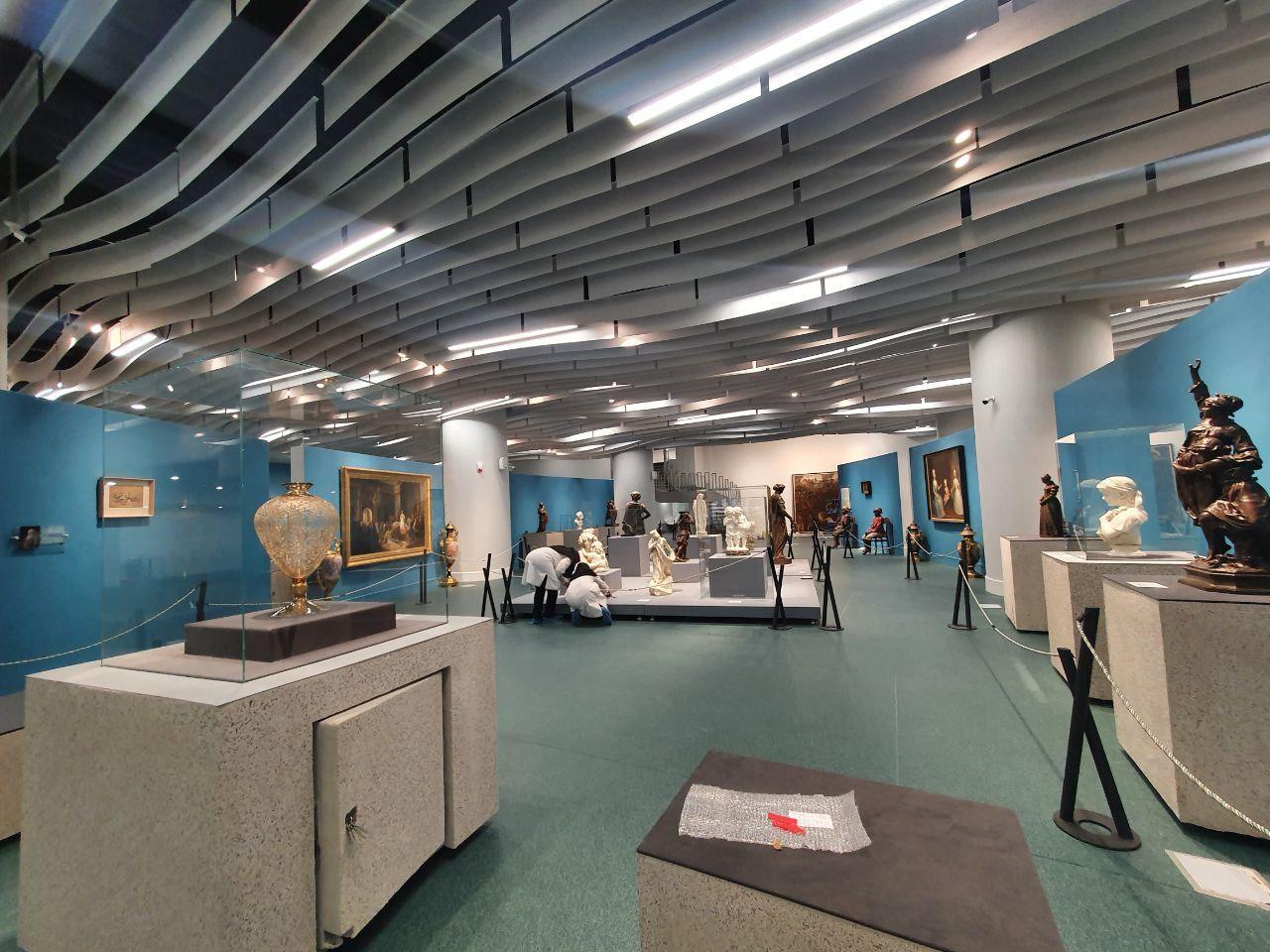 بازگشایی موزه دفینه، با سه موزه پول، آرایهها و هنر جهان