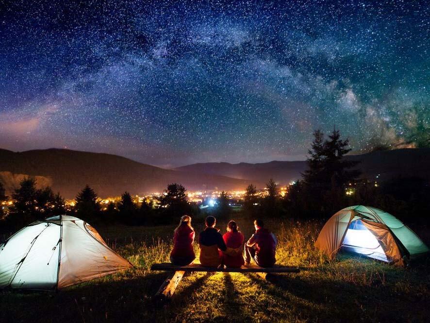 چک لیست کمپینگ، برای تجربه یک شب بسیار راحت زیر ستارهها
