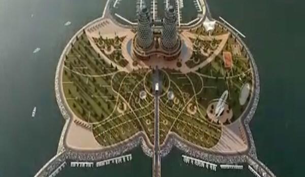 ساخت نخستین جزیره مصنوعی کشور در دریای خزر