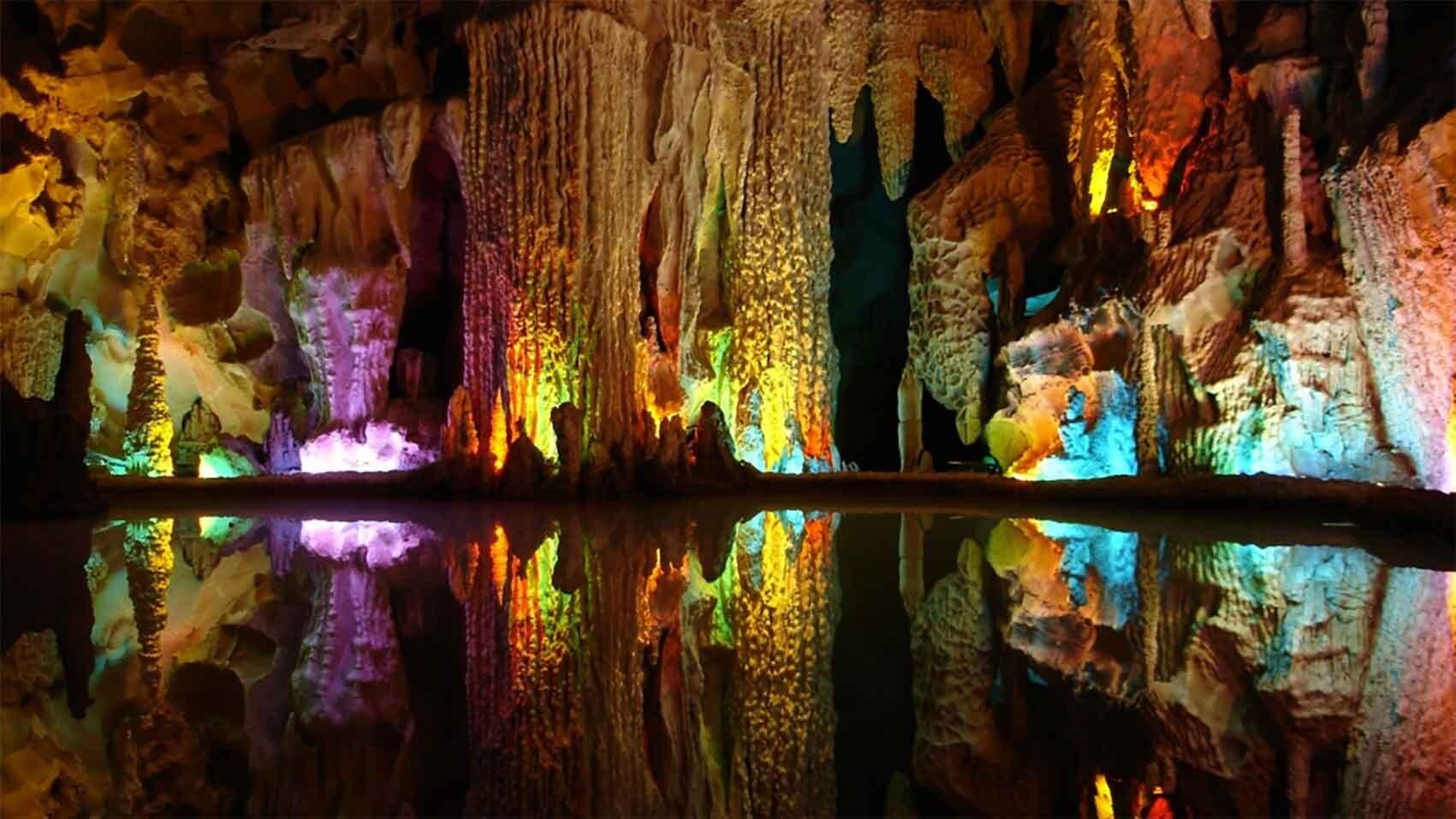 10 غار شگفت انگیز ایران