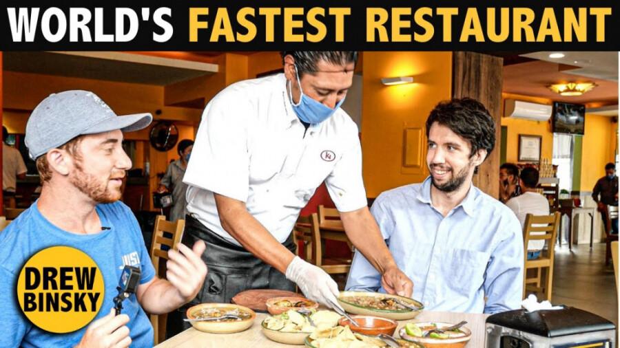 سریعترین رستوران جهان که در گینس ثبت شده است!