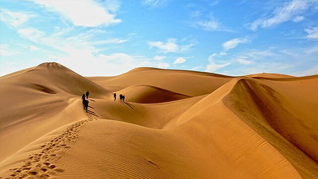 هبوط (سفرنامه کویر ابوزید آباد)