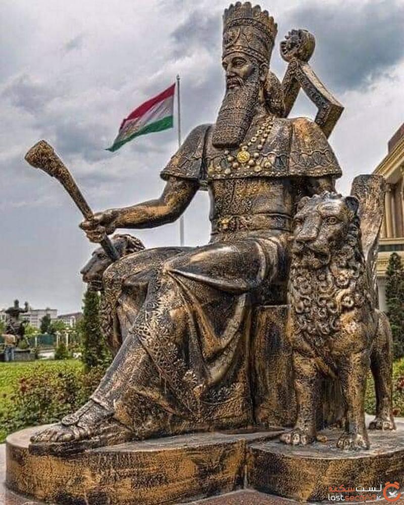 کوروش در تاجیکستان