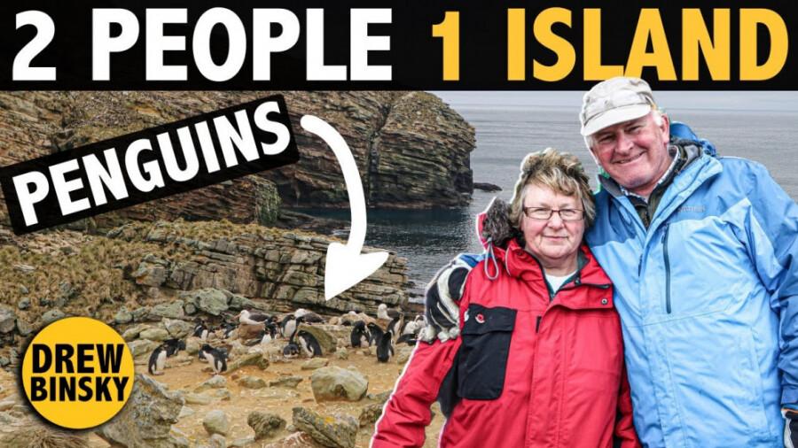 نیوآیلند، جزیره ای با 2 نفر جمعیت!