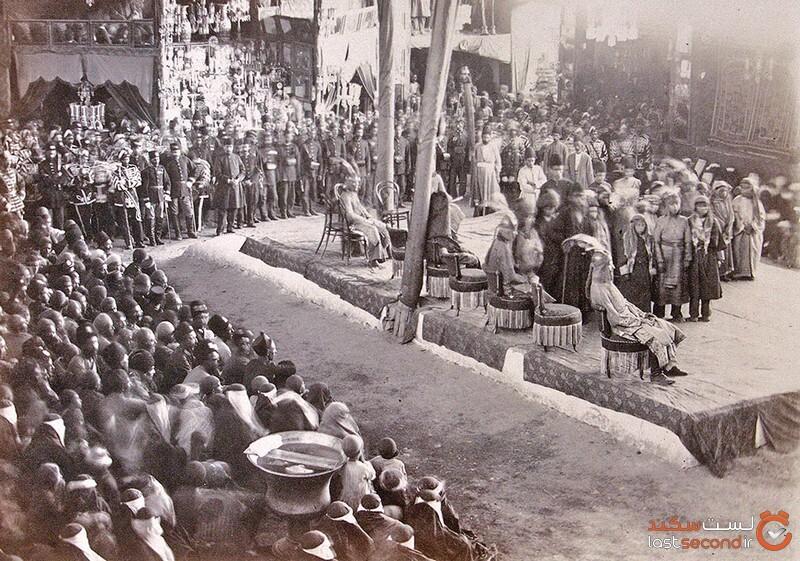 تکیههای قاجار