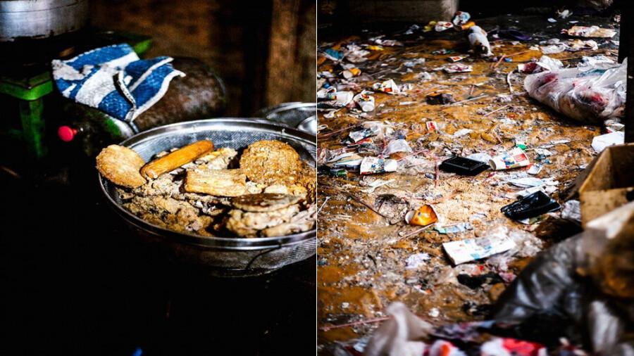 پاگ پاگ: غذایی از زباله های رستوران ها!