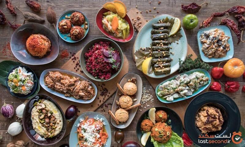 غذاهای ایران و ترکیه