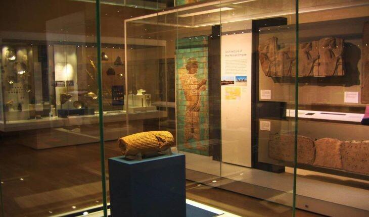 مهمترین آثار باستانی ایران در موزه های خارجی