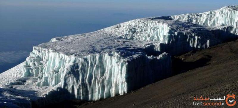 یخچال طبیعی در مناطق استوایی