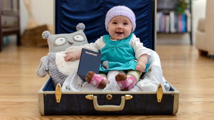 راهنمای کامل سفر با نوزاد