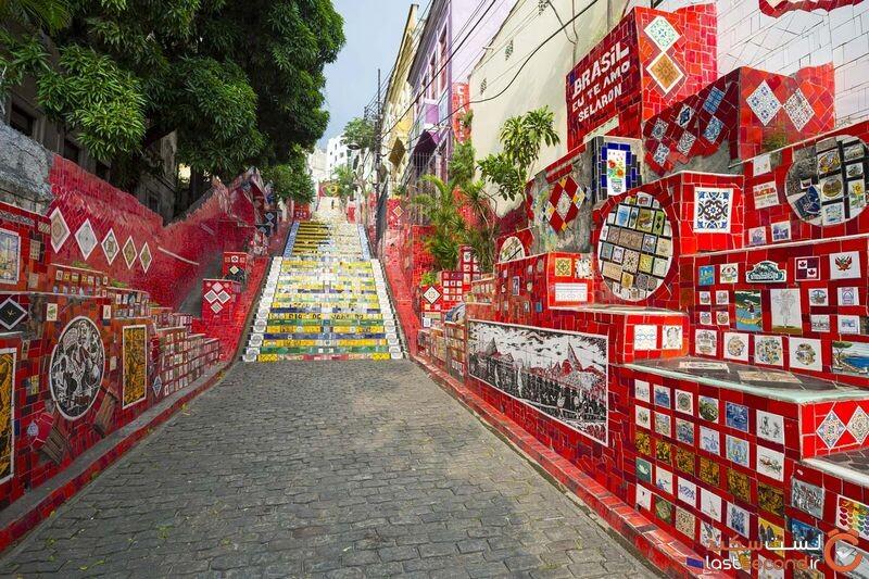 پله های برزیل