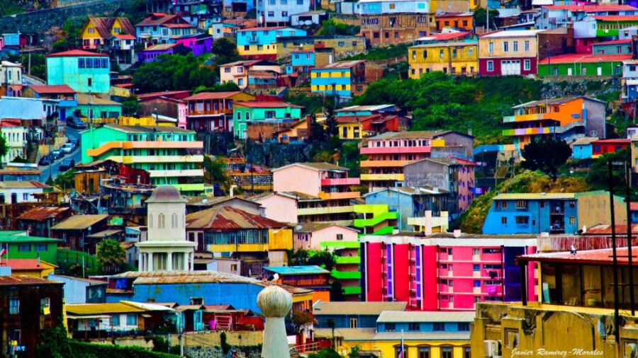 والپارایسو، رنگارنگترین شهر جهان!