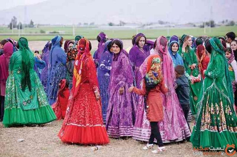 لباس قشقاییها