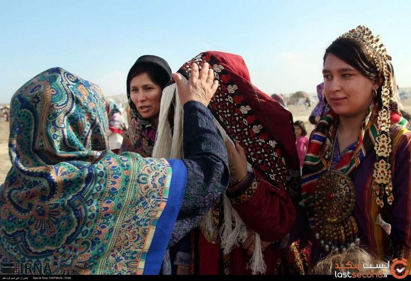 لباسهای ترکمنی