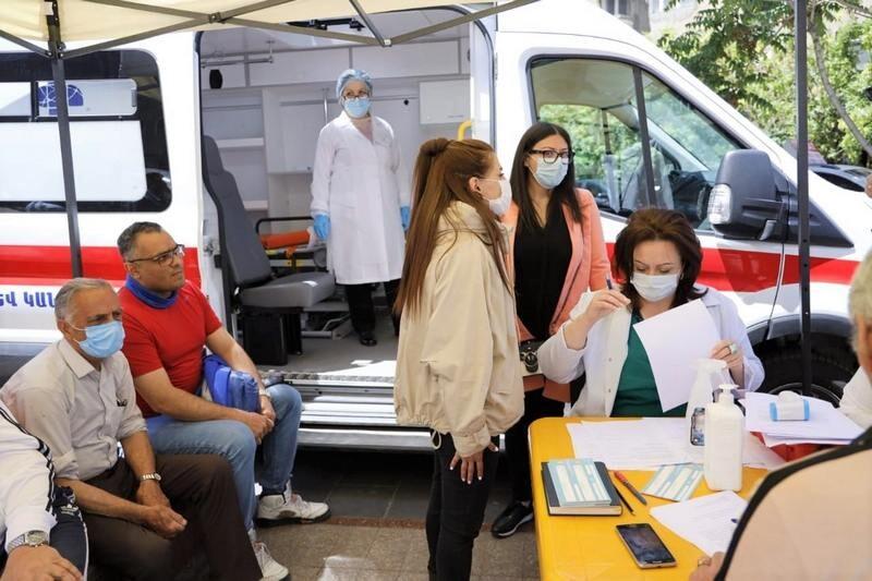 با تور ارمنستان میتوانید واکسن رایگان کرونا تزریق کنید