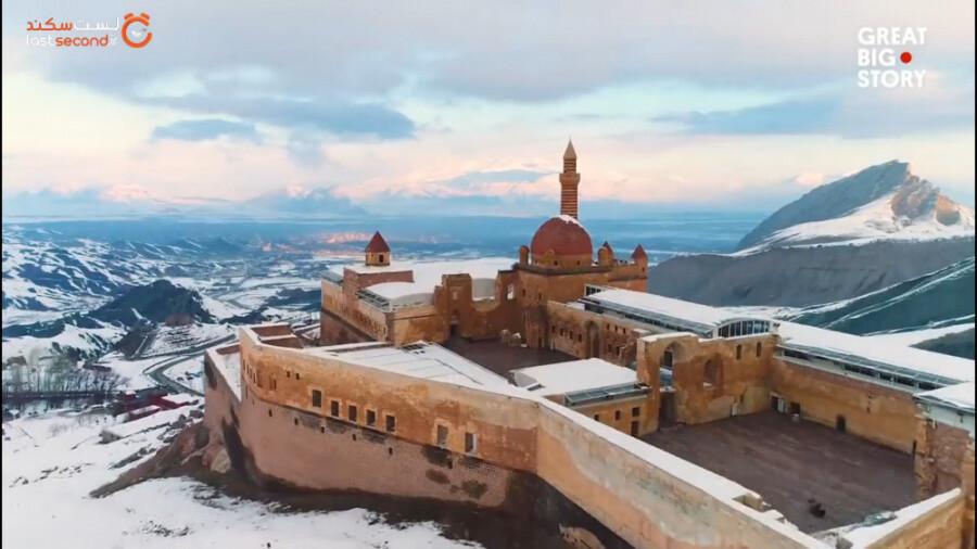 آخرین قصر عثمانی در قله کوه!