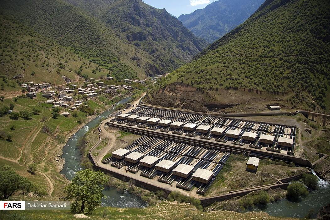روستای دیوزناو کردستان با خیالیترین مناظر طبیعی