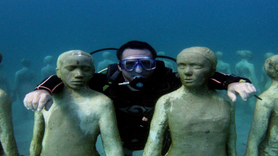 جالبترین موزه دنیا  در زیر آب!