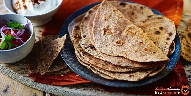 نان هندی در خراسان شمالی