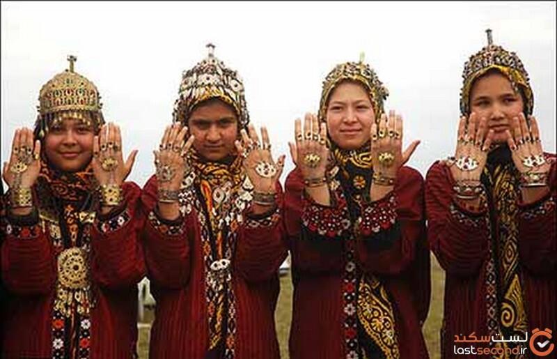 زیورآلات زنان ترکمن