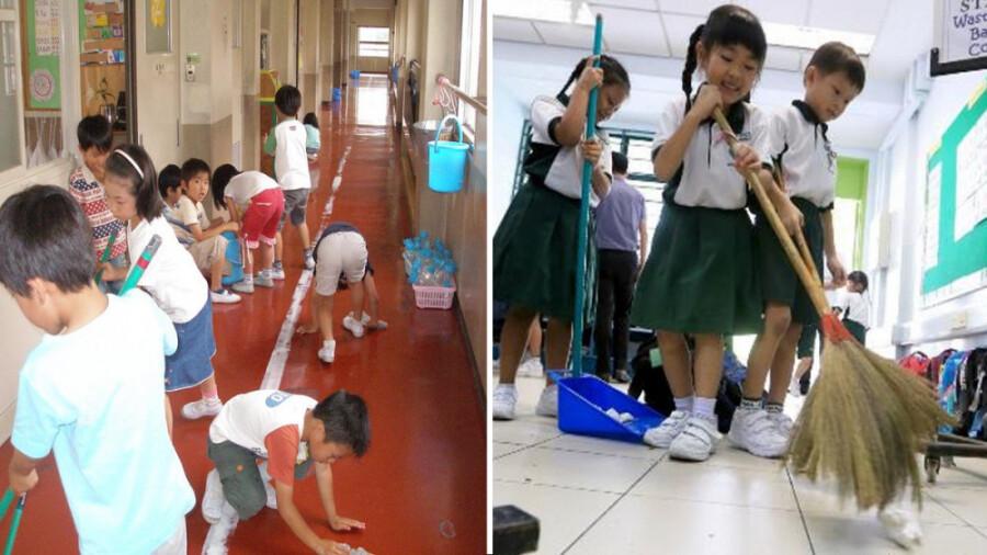 کودکان ژاپنی مرزهای ادب را جا به جا کردند!
