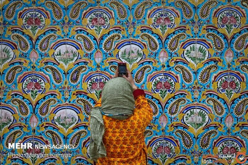 کاشی ایرانی هفت رنگ