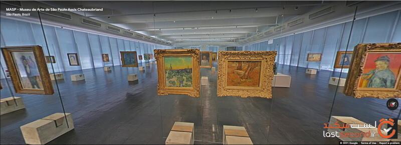 تور مجازی رایگان جذاب ترین موزههای معروف جهان