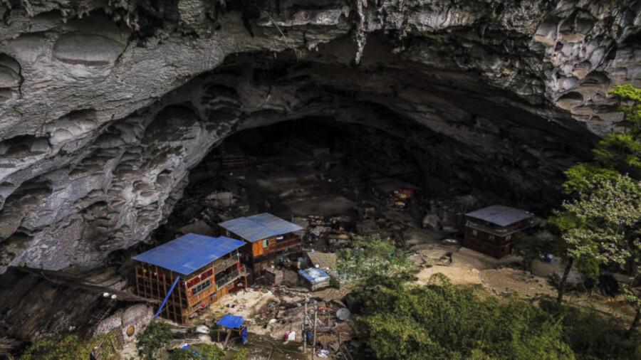 آخرین غار نشینان جهان در چین!